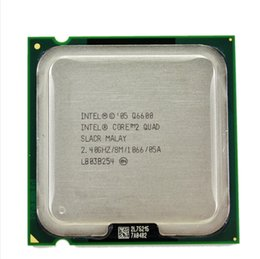 Wholesale Quad Core Processor 775 - lntel CORE 2 QUAD Q6600 Processor 2.4GHz 8MB  Quad-Core FSB 1066 Desktop LGA 775 CPU can working