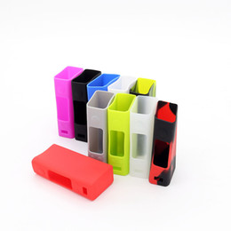 Wholesale Evic Casing - Protective Silicone Case for Joyetech Evic VTC mini 60w 75w Box Mod Colorful Silicon Cover Cases 50pcs lot Free DHL Shipping