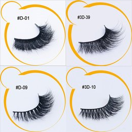 Wholesale Long Lasting False Eyelashes - 4 Styles 12 Pairs Mink Lashes 3D Mink False Eyelashes Long Lasting Lashes Natural Mink Eyelashes with Packaging New Arrival