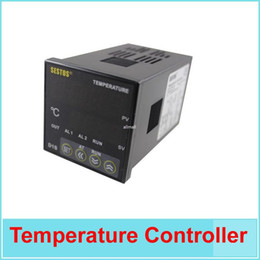 Wholesale omron relays - Freeshipping Sestos Dual Digital Pid Temperature Controller 2 Omron Relay Output Black