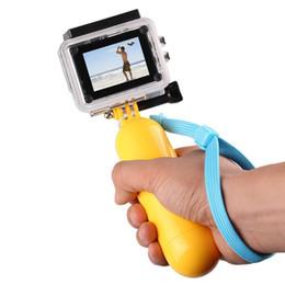 Горячая Для GoPro Bobber Плавающая Ручка Ручка Монопод Для Go Pro Hero 2 3 + / 3 4 5 6 7 черный Sj4000 Спортивные Аксессуары для Камер от