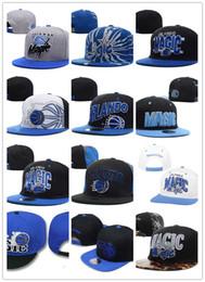 Wholesale Snap Back Hats Basketball - 2017 wholesale Orlando Snapback Baseball Snapbacks Magic basketball Snap Back Hats Womens Mens Flat Caps Hip Hop Caps Cheap Sports Hats