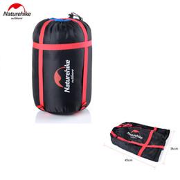 Wholesale Compression Bag Camping - Wholesale- Naturehike Compression Stuff Sack Bag For Sleeping Bag Multifunctional Lightweight Outdoor Camping Travel Pack Storage Carry Bag