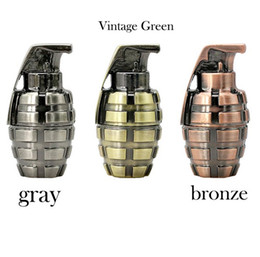 Wholesale Usb Flash Drive China - Mini metal retro hand grenade USB Flash drive 64gb usb 2.0 pen drive 16GB flash memory stick u Disk pen drive 32gb pendriver