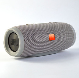 Wholesale Button Sound Mp3 - CrazyCube Charge 3 Best selling Charge 3 wireless bluetooth streaming speaker high-end quality stereo sound 1200mAh rechargerable