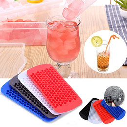 Wholesale Small Tray Wholesale - Mini Small Ice Cube Tray 160 Grid Frozen Cubes Trays Silicone Ice Mold Kitchen Tool OOA2239