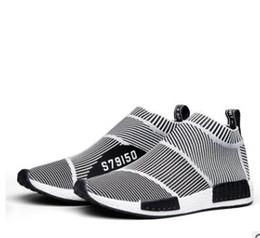 Wholesale Mens Sport Toe Socks - 2017 NMD_CS1 PK Runner City Sock Nmd Cs1 CS 1 Mens Women Classic Running Shoes Fashion City Sock Grey Sports Sneakers
