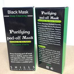 Wholesale Black Heads Removal - Shills Purifying Peel Off Black Mask Blackhead Remover Deep Cleansing Mud Facial Mask Acne Black Heads Removal Nose Pore Cleaner Mask