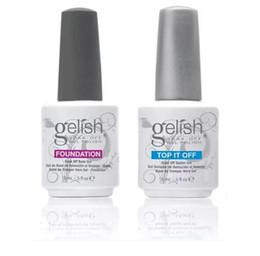 Uña gelish uv online-nuevo 288 colores Harmony Gelish Nail Polish ESTRUCURE GEL Soak off Clear Nail gel LED UV Gel Polish SUPERIOR Foundation nail art frence nail