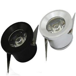Wholesale 12v Touch Switch - Carbinet lights LED downlights 1W 3W LED office home lighting mini Recessed downlight High power LED