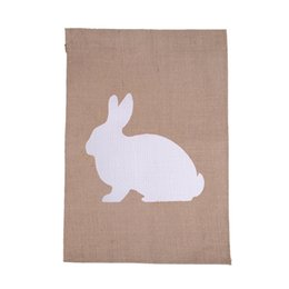 Wholesale Zipper Jute Bag - Wholesale- Shopping bags factory direct wholesales jute material blank printing and PVC coating DIY garden flag bags with free shipping