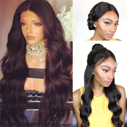Wholesale Glueless 22 Inch Lace Wig - New Arrived Glueless full lace human hair wigs for black women Indian virgin hair loose wave lace front wig 8-26 inch