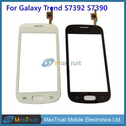 """Wholesale Capacitive Touch Ic - Original IC 4.0""""For Samsung Galaxy Trend Lite S7390 S7392 Touch Screen Digitizer Front Glass Panel Sensor Black White Color"""