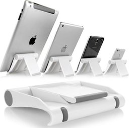 Wholesale Tablet Retail Stand - Universal Desktop Cell Phone Stand Tablet Mount Bracket Holder for Mobile Phone Tablet iPhone Samsung Huawei with Retail Package