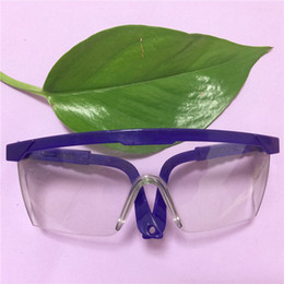 Wholesale Manufacturers selling labor insurance supplies safety glasses Safety goggles strike against wind Labor insurance anti fog glasses