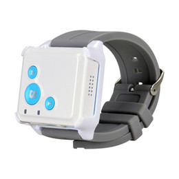 Wholesale Car Tv China - Super mini GPS Tracker SOS communicator For Kids Elderly Pet Car Remote Tracking via internet website SMS APPs RF V16