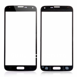 2020 touchscreen glas s5 Hochwertiger vorderer äußerer Touch Screen Glaslinse Ersatz für Samsung Galaxy s5 i9600 Schwarz Weiß Blau günstig touchscreen glas s5