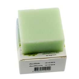 Wholesale Tea Free Oil - 2017 New Handmade OMO Fern Milk Green Tea Soap Skin Care Natural Soap Blackhead Remover Oil Control Face Soap free shipping dhl