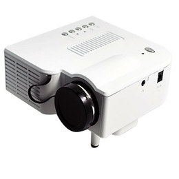 Wholesale Front Projection - Wholesale-2015 Wholesale Price Mobile phone MINI HDMI Projector LED Projector 400 Lumens Front Rear Projection Used For Home Theater