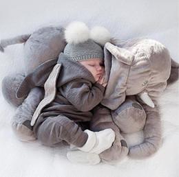 2019 mamelucos de invierno lindo Bebé recién nacido bebé niña niño ropa linda conejito 3D oreja mameluco mono traje otoño invierno cálido Bebes mamelucos de una pieza rebajas mamelucos de invierno lindo