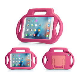 Wholesale cell resistance - Protective Handle Stand Shockproof Kids EVA Safe Foam Case Cover for Smart Phone Cell Phone