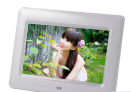 Wholesale Digital Photo Frames Mp4 - brand new 7 inch Digital Photo Frame With MP3 MP4 Player High Resolution 800x480