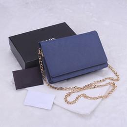 Wholesale Classic Design Handbag - Luxury classic women's handbags 2016 fashion design cross pattern cowhide leather chain bags samll wallet 7 colors 1318