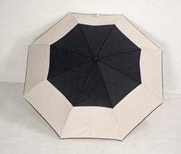 Wholesale Sunny Fashion - Selling! High quality camellia lady fashion 3 fold umbrella automatic camellia umbrella umbrella UV protection