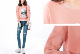 Wholesale Girls Dress Patterns Free - Spring autumn and winter. Pink. Women sweater. New pattern. Sweater. Ladies dress. Girls. Casual fashion. Keep warm.Women's Sweatshirts.