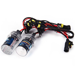 Wholesale Xenon Headlights Color - Vehicle Car Headlight H7 10000K HID Xenon Head Lamp Ballast Super Vision with 35W 2pcs Closer to Natural Daylight in Color Light