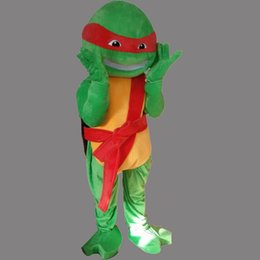 Wholesale Sea Turtle Costume - Sea Turtle Mascot Costume Tortoise Fancy Party Dress Halloween Carnival Costumes Adult Size High Quality free shipping