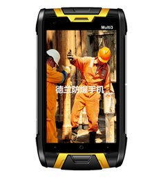 Wholesale Smartphone Android Quad Core Rugged - DORLAND Multi 3 Explosion-proof Mobile Phone, IP68 Rugged Smartphone,Intrinsically Safe For Oil & Gas Industry and Hazardous Areas