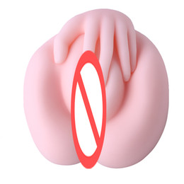 Wholesale Sexy Dolls Free Sex - Free Shipping Sexy siliconen vagina Big ass for Male Masturbatorreal silicone soft and smooth sex dolls