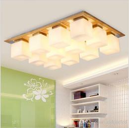 2017 Deckenleuchten Lampenschirme Glas Schatten OAK Moderne LED Fr Wohnzimmer Schlafzimmer Lamparas De