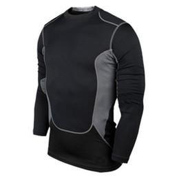 Wholesale- Prix d'usine! Vêtements de compression pour hommes sous T-shirt à manches longues Pro Base Layer B53 ? partir de fabricateur
