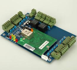 Wholesale Wiegand Door Access Control - Free shipping Wiegand TCP IP 2-Doors 4-readers Door Access Control panel board Wiegand 26 34 bit
