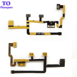 Wholesale Ipad Volume - Volume Button Flex Cable for iPad 2 CDMA A1395 A1396 Power On Off Switch SIlent Mute free shippin
