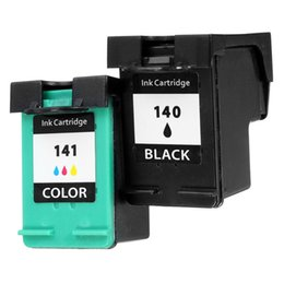 Wholesale Deskjet Cartridges - Freeshipping 2Pcs lot Ink Cartridge for HP 140 141 xl for HP DeskJet 5363 D4263 OfficeJet 6413 J5783 J5783 J6413 C4283 C4343 C5283 D5363