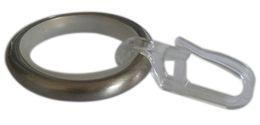 Wholesale Plastic Attachments - 20 Pcs D34mm Iron Rings With Slide Attachment