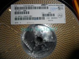 Wholesale Capacitor Sizing - Wholesale- TAJB476K010RNJ CAP TANT 47UF 10V 10% 1210 Tantalum Capacitors Size B 100pcs