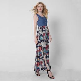 Длинное шифоновое платье большого размера купить