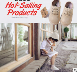 Wholesale Wholesale Kids Brand Shoes - Children canvas shoes Brand girls light golden soft bottom dance shoes boys football footwear autumn new kids casual sprots shoes R1137