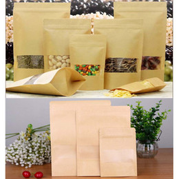 Wholesale White Paper Plastic Packaging - Paper Packing Bags Clear and white pearl Poly OPP Packing Zipper Zip Lock Packages Jewelry Food PVC Plastic Bag Different Size 0593WH