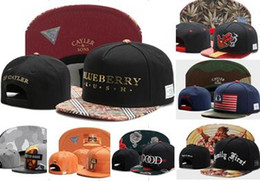 Wholesale Printing Letters - Wholesale Cayler & Sons baseball caps Brooklyn Embroidery hats Snapback Caps adjustable dad hats for men bones snapbacks bone gorras cap
