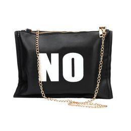 Wholesale Wholesale Fashion Messenger Bags - Wholesale- JECKSION YES or NO Women Bag 2016 Fashion Leather Messenger Crossbody Clutch Shoulder Handbag #LSN