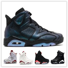 Wholesale Rivet Star - cheap 6 black infrared Alternate All Star Maroon black cat low chrome basketball shoes VI 6s men sports shoes low cut athletic women sneaker