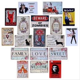 Canada (40 Styles) TIN SIGNS Wall Poster 20*30CM Retro Vintage Old Metal Art Painting Decor, Tin Sign Plate DIY Bar Home Classic Decor Offre