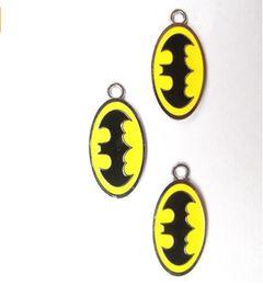 Wholesale Batman Charms - New Batman DIY Jewellery Making Metal Charm Pendants Jewelry Making Party Gifts A--39