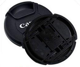 capuchons d'objectif de 62 mm Promotion Gros-Livraison Gratuite 10 pcs Caméra Lens Cap Pour Cann 49mm 52mm 55mm 58mm 62mm Protection Couvercle Lentille Accessoires