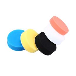 Wholesale Buff Color - Wholesale- 5Pcs Lot 3 4 5 6 Inch Car Polisher Pads Buffing Polishing Sponge Pads Kit For Car Polisher Buffer Auto Accessories Random Color